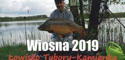 Podlaska majówka karpiowa 2019 - łowisko Tybory-Kamianka