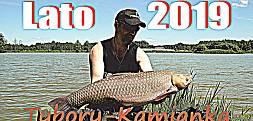 Letnia zasiadka 2019 - łowisko Tybory-Kamianka