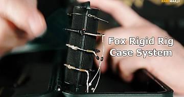 Piórnik na przypony karpiowe - Fox Rigid Rig Case System