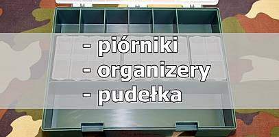 Piórniki, organizery i pudełka wędkarskie. Przegląd rynku