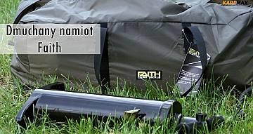 Świeży powiew na rynku karpiowym. Dmuchany namiot Faith Inflatable Avatar M1 Dome