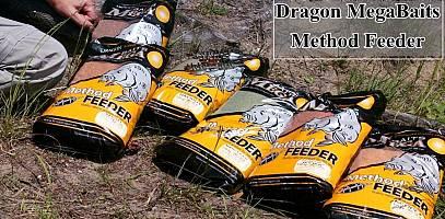 Nowe zanęty Dragon Mega Baits do method feedera. Film