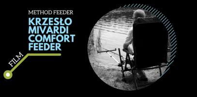 Krzesło wędkarskie do method feedera Mivardi Comfort Feeder