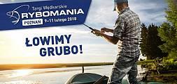 Zbliżają się Targi Wędkarskie Rybomania w Poznaniu. 9-11 lutego
