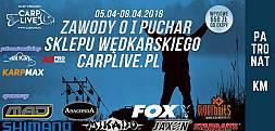 Zawody o I Puchar Sklepu Wędkarskiego Carplive.pl