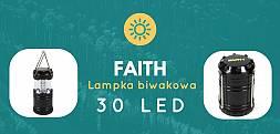 Lampa biwakowa Faith 30 ledów