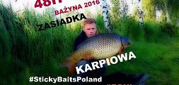 Krótka 48H Zasiadka Karpiowa *HD STICKYBAITSPOLAND FOXINT BAŻYNA