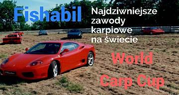 Kolekcja Ferrari, helikopter przewraca namioty. Najdziwniejsze zawody karpiowe
