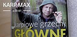 Zobacz filmową zapowiedź najnowszego Karp Maxa 4/2018