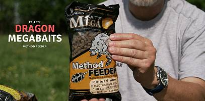Film. Pellety do method feedera Dragon Mega Baits