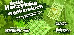 Sklep Wedkarz.pro – ponad 20 tys. produktów od ręki, wysyłka na cały świat