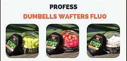 Dumbells Wafters Fluo Profess – skuteczne przynęty do method feddera