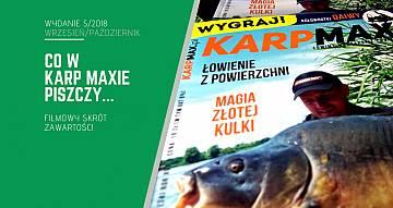 Karp Max 5/2018 już w sprzedaży. Filmowy skrót zawartości