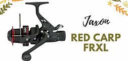 Jaxon Red Carp FRXL - Kołowrotki karpiowe z wolnym biegiem