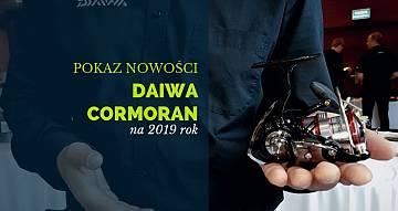 Zobaczcie jakie nowości szykuje Daiwa i Cormoran na 2019 rok
