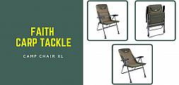 Fotel karpiowy Faith Camp Chair XL