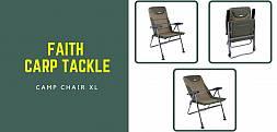 Fotel karpiowy Faith Camp Chair XL