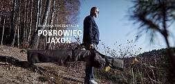 Film. Pokrowiec na wędki z kołowrotkami Jaxon