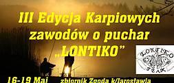 III Edycja zawodów karpiowych o Puchar Lentiko