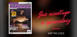 """Zobaczcie jak prezentuje się okładka najnowszego wydania """"Karp Maxa"""" 2/2019"""