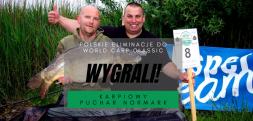 Krawczyk i Chlasta wygrali Karpiowy Puchar Normark i jadą na World Carp Classic