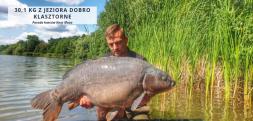 30,1 kg z Jeziora Dobro Klasztorne