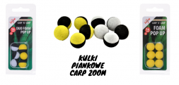 Kulki piankowe Carp Zoom Duo Foam pop-up 10, 14 mm