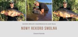Jezioro Smolno z rekomendacją Karp Maxa i z nowym rekordem