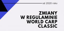 Zmiany w regulaminie World Carp Classic