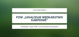 """PZW """"legalizuje wędkarstwo karpiowe"""" – na żywo 15 listopada"""