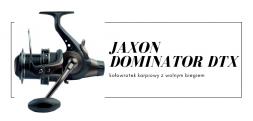 Kołowrotek karpiowy z wolnym biegiem Jaxon Dominator DTX