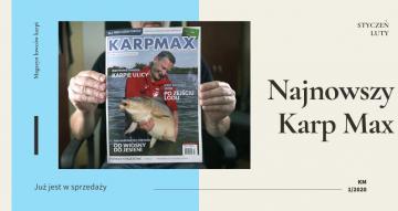 """Zimowe karpiowanie - najnowszy """"Karp Max"""" 1/2020 już w sprzedaży"""
