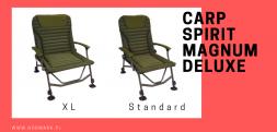 Nowy model fotela wędkarskiego Carp Spirit Magnum Deluxe
