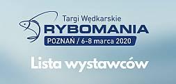 Rybomania Poznań 2020 - lista wystawców