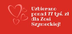 Uzbierano ponad 77 tysięcy dla Zosi. Może będzie więcej. Zachęcamy do wsparcia