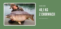 Gigantyczny karp +40 kg złowiony w Chorwacji