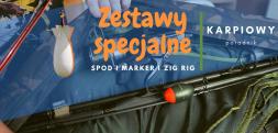 Poradnik karpiowy cz.5 - zestawy specjalne - Spod, Zig Rig