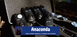 Nowość 2021 - sygnalizatory brań Anaconda Vipex RS i TSR