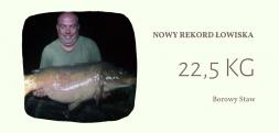 Nowy rekord łowiska Borowy Staw