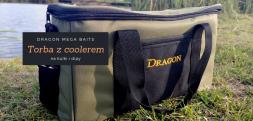 Torba karpiowa z coolerem na dipy i kulki Dragon MegaBaits