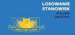 World Carp Classic 2020 – zobacz gdzie łowią polskie drużyny