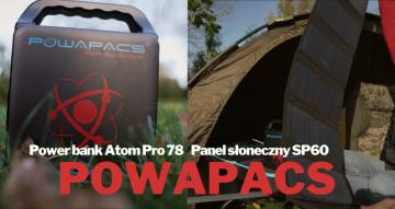 Powapacs wchodzi na polski rynek - power bank Atom Pro 78 i panel słoneczny SP60