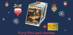 """Prenumerata """"Karp Max"""" z gratisami doskonałym prezentem pod choinkę dla karpiarza"""