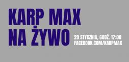 29 stycznia – live Karp Maxa… brak targów wędkarskich w 2021