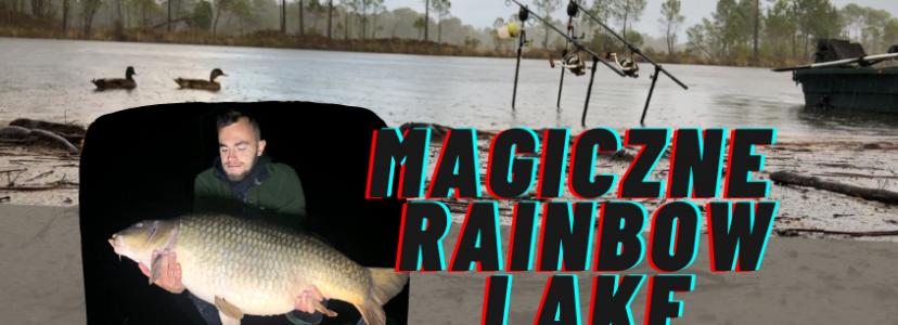 Magiczne Rainbow Lake. Film z zasiadki Kuby z KM