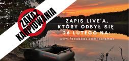 Zakaz wywózki powyżej 50 metrów – zapis live'a Karp Maxa