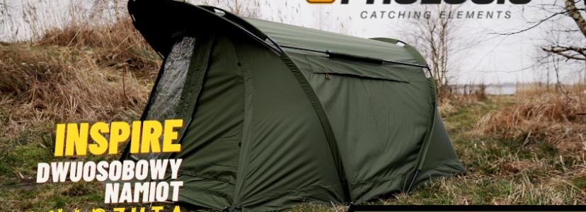 Prezentujemy nowość - dwuosobowy namiot Prologic Inspire z narzutą