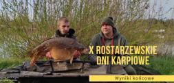 Jakub Ludwiczak i Sebastian Trutkowski wygrali X Rostarzewskie Dni Karpiowe
