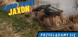 Prezentujemy nowy model podbieraka karpiowego Jaxon Carp Profi