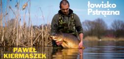 Paweł Kiermaszek na łowisku Pstrążna. Film